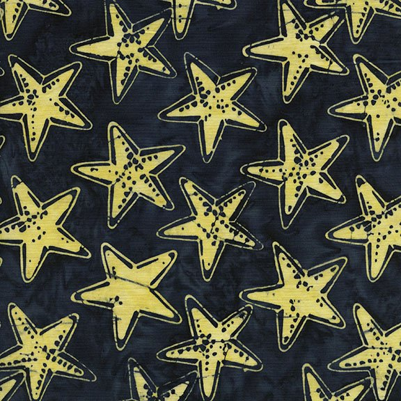 Captain's Anchor - Star Fish - Navy