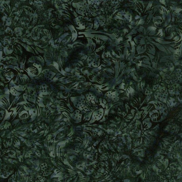 Vintage Morris - Large Floral Vine - Forest
