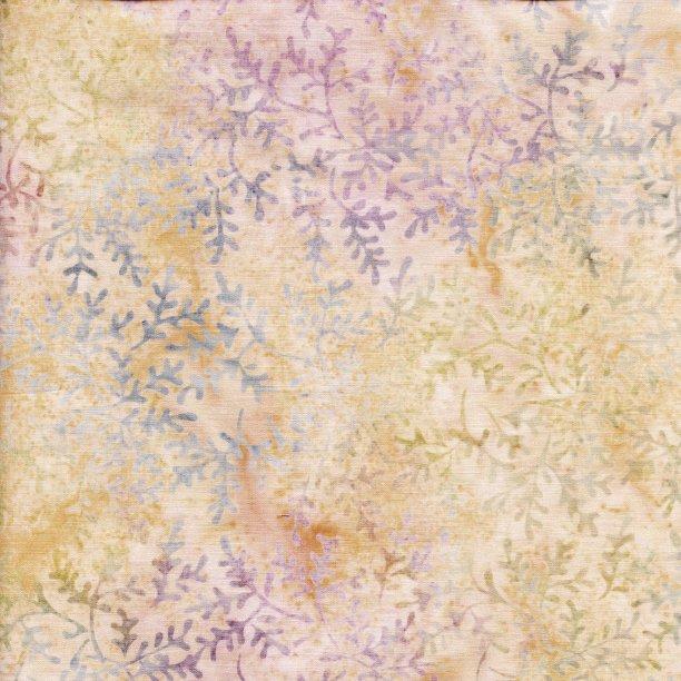 All A Flutter - Mini Sprigs - Parchment (Remnant: 2-1/8 yds)