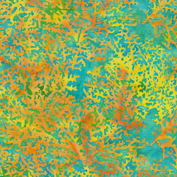 Tropical Escape - Coral - Candy Corn