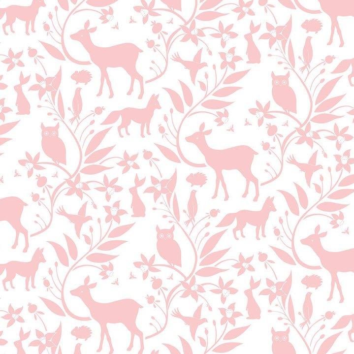Born Wild - Woodland - Pink