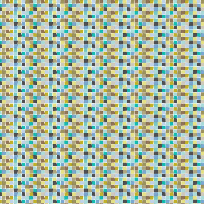 Born Wild - Mosaic - Blue