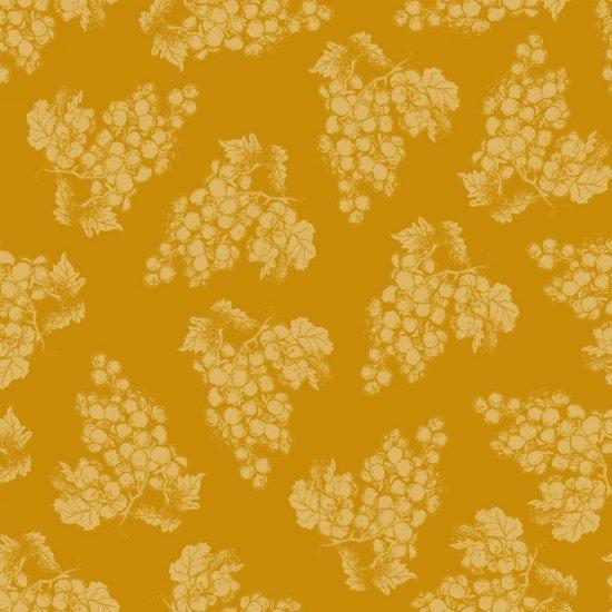 Vintage - Tonal Grapes - Gold