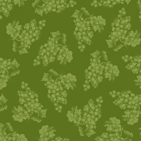 Vintage - Tonal Grapes - Green