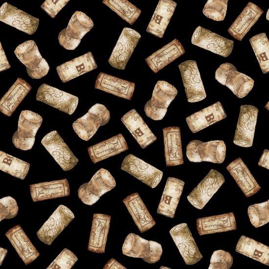 Vintage - Corks - Black