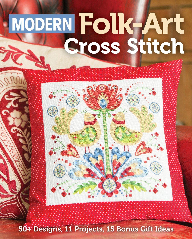Modern Folk-Art Cross Stitch