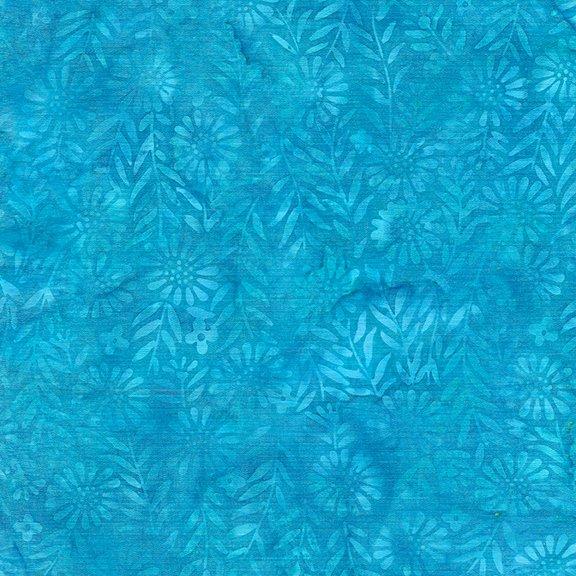 Boho - Flower Field - Aquamarine