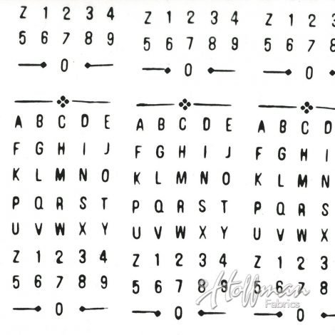 Alphabet - Chalk
