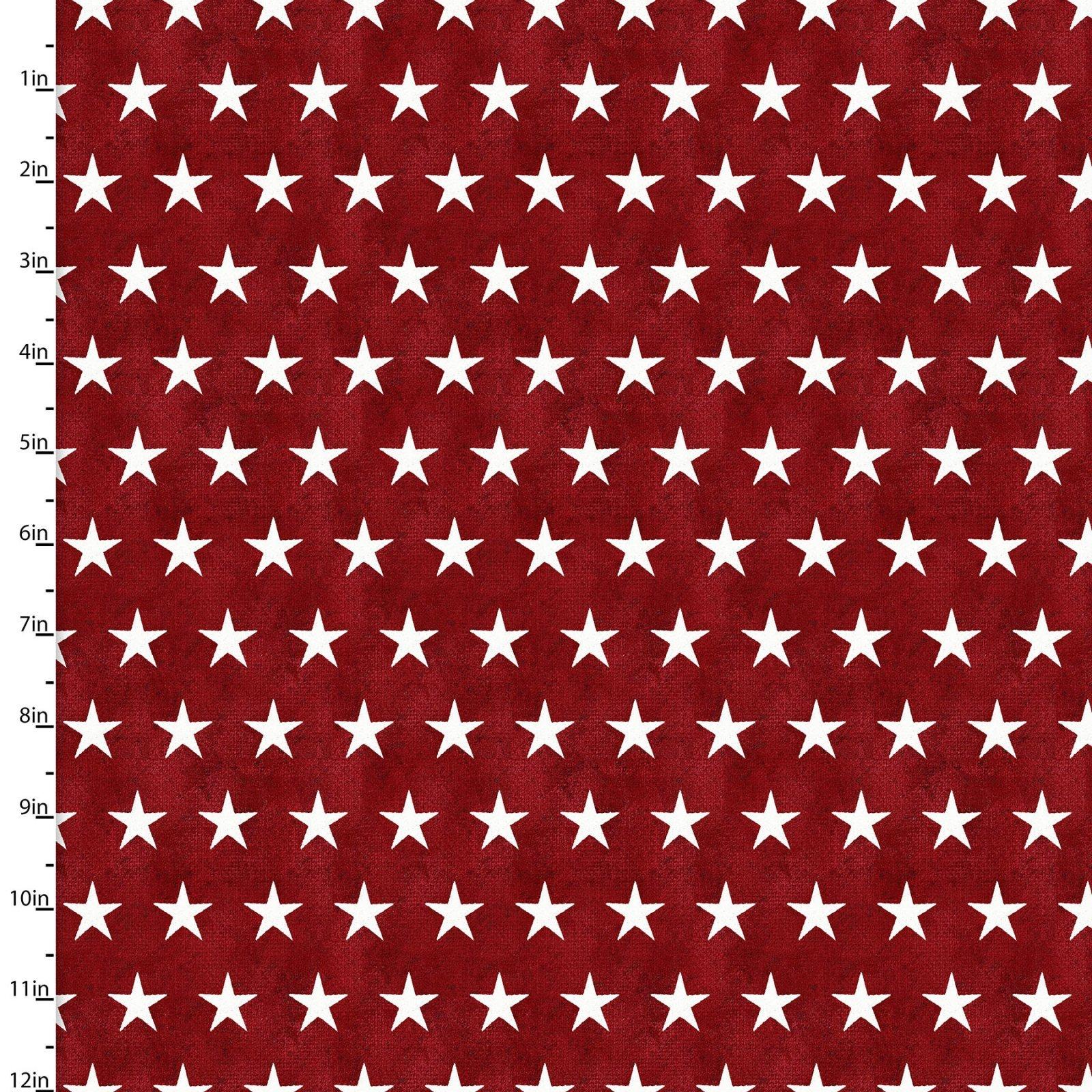 American Spirit - Stars - Red