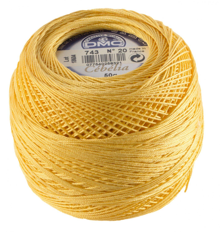 Cebelia #743 Yellow Mustard