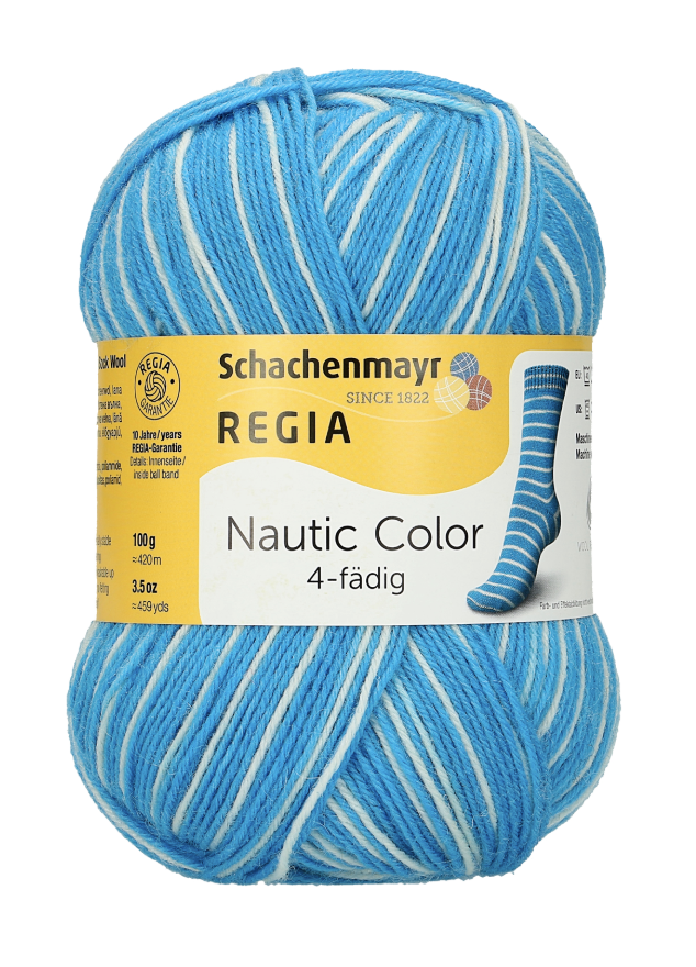 REGIA Nautic Color 4ply - 1742 Santorini