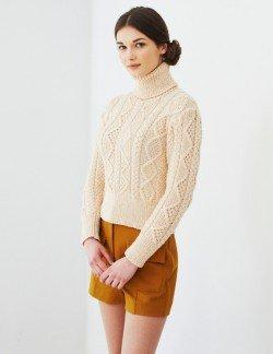 Cashmerino Aran - Cable Sweater