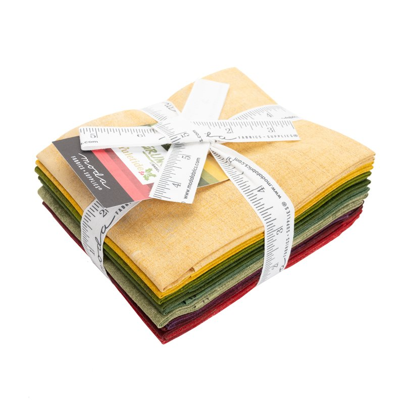 Grunge Fat Quarter Stack - Yuletide (10 pcs)