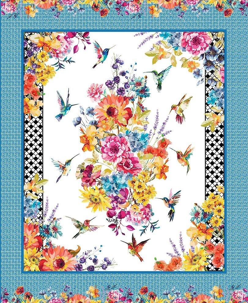 Hummingbird Lane - Large Panel