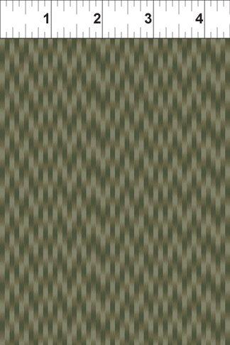 Exotic Spice - Ikat - Medium Gray