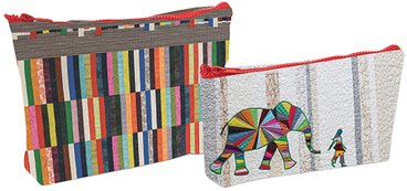 Elephant & I - Eco Pouch Set