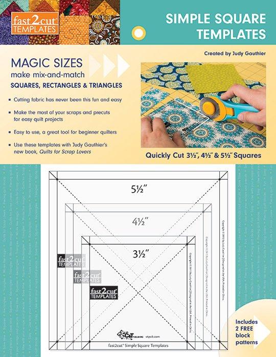 fast2cut Simple Square Templates