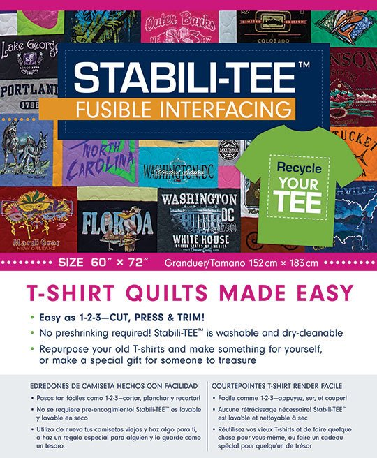 Stabili-TEE Fusible Interfacing Pack 60 X 72