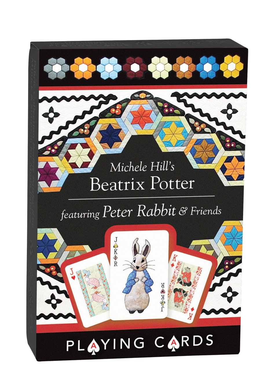 Michelle Hill's Beatrix Potter Playing Cards