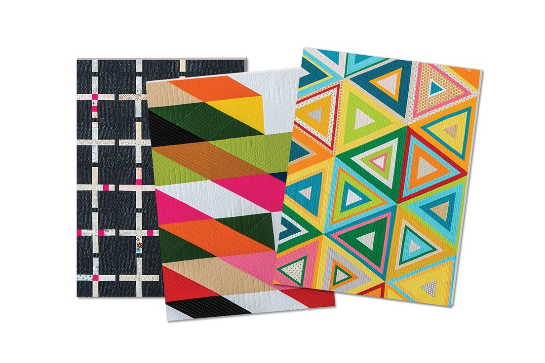 Modern Quilts Notebooks (Set of 3)