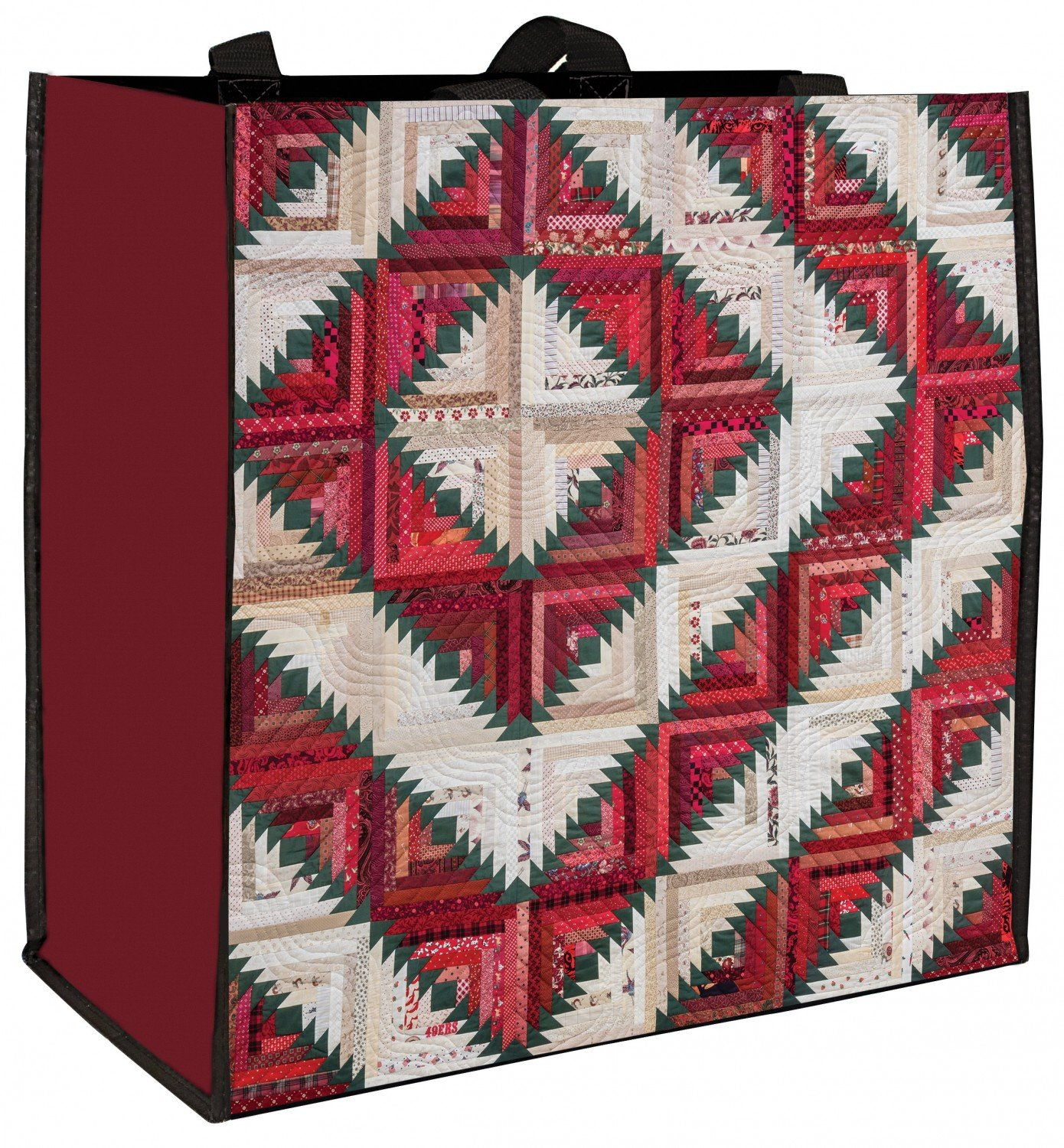Carolie Hensley's Holiday Log Cabin - Eco Tote