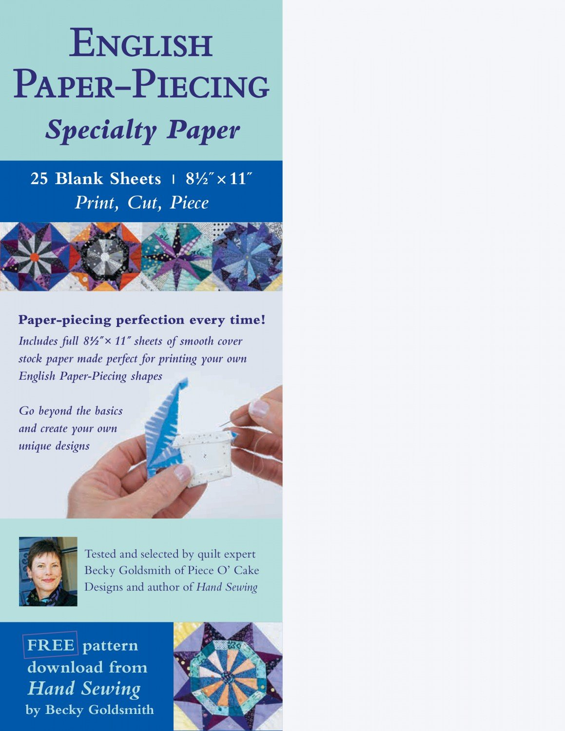 English Paper-Piecing Specialty Paper
