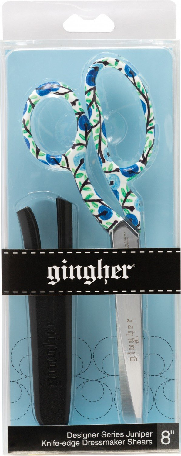 Gingher Designer Series Juniper - Knife-Edge Dressmaker Shears - 8