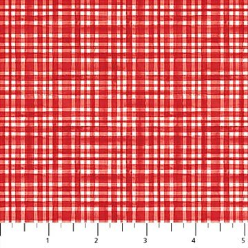 Double Decker Christmas - Plaid - Red