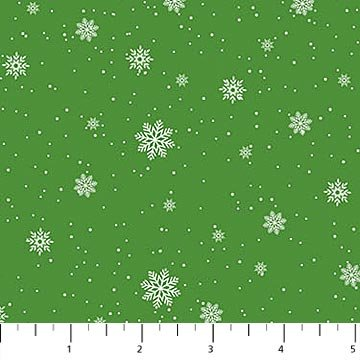 Double Decker Christmas - Snow - Green