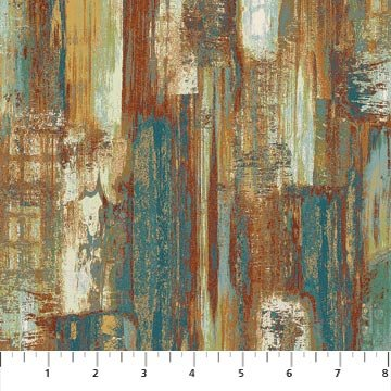 Urban Reflections - 22950 - Teal Multi