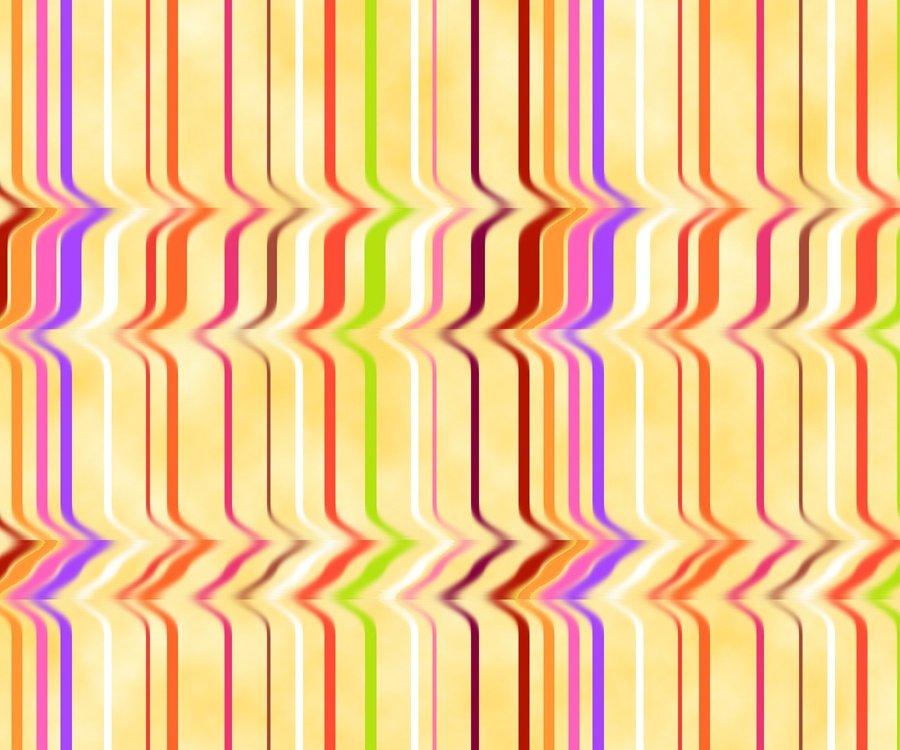 Just Trippin' - Rippled Stripe - Yellow