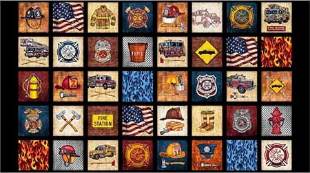 5 Alarm - Everything Firefighter Patches Panel