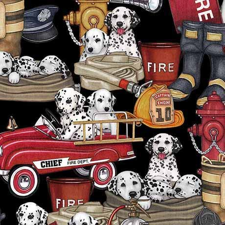 5 Alarm - Dalmatians & Equipment - Black