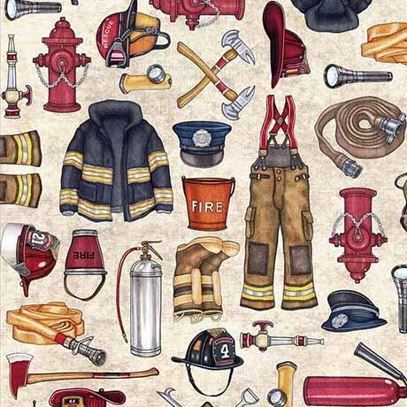 5 Alarm - Firefighter Equipment - Stone