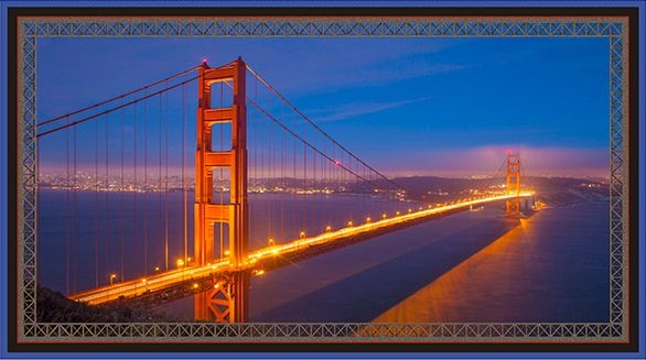 Artworks VII - Golden Gate Bridge Panel