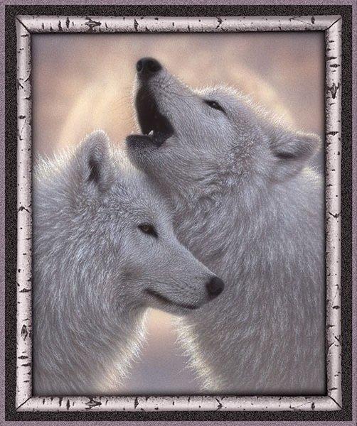 Artworks VII - Wolves Panel