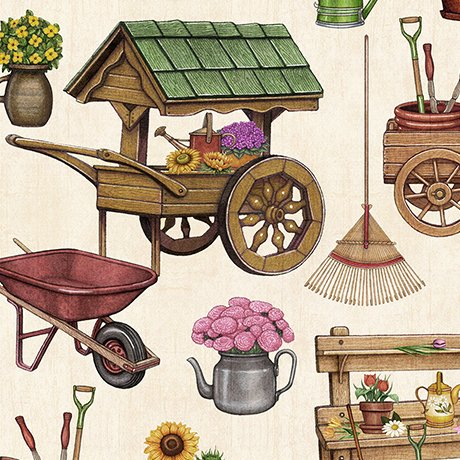 A Gardening We Grow - Garden Carts & Sheds - Yellow
