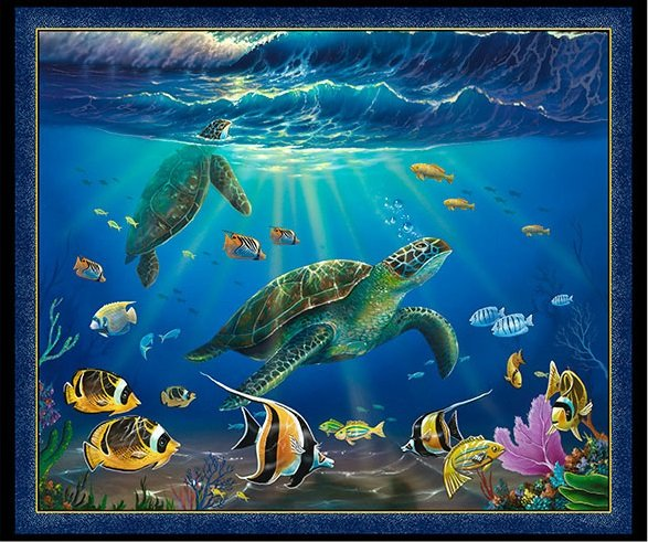 Artworks VIII - Turtle Picture Panel