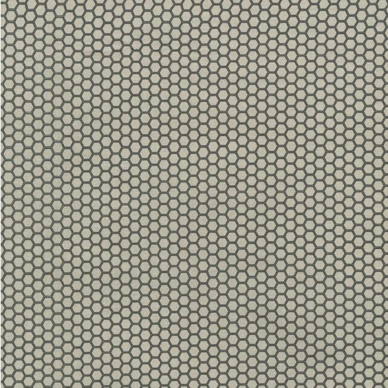 Queen Bee - Honeycomb - Gray