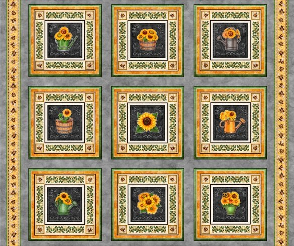Always Face the Sunshine - Patches Panel - Gray