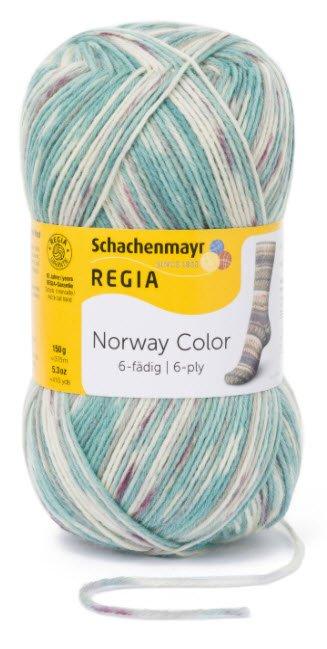 Regia Norway Color 6-ply - 2787 Voss
