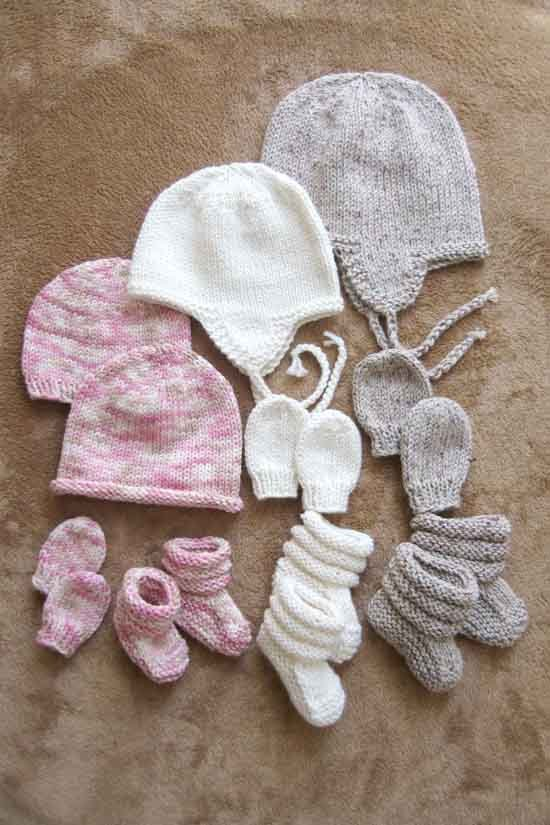 Baby Hats, Mitts and Booties