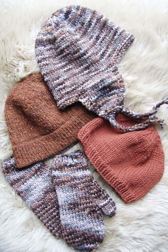 Bulky Hat & Mitten Set