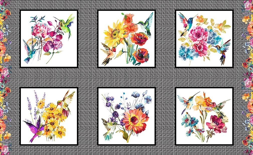 Hummingbird Lane - Small Panel