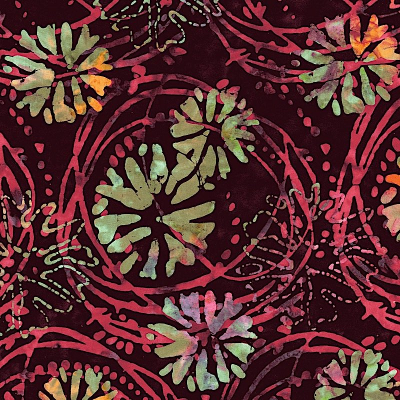 Blossom Batiks 2 - 3143 - Snap Dragon