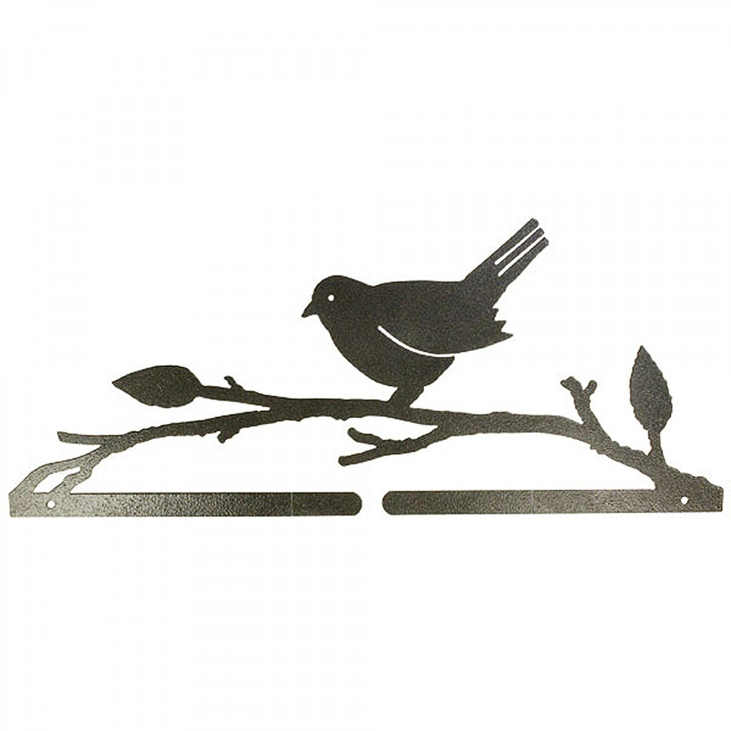 Bird On A Branch Split-Bottom Craft Holder - Charcoal (14 1/2)