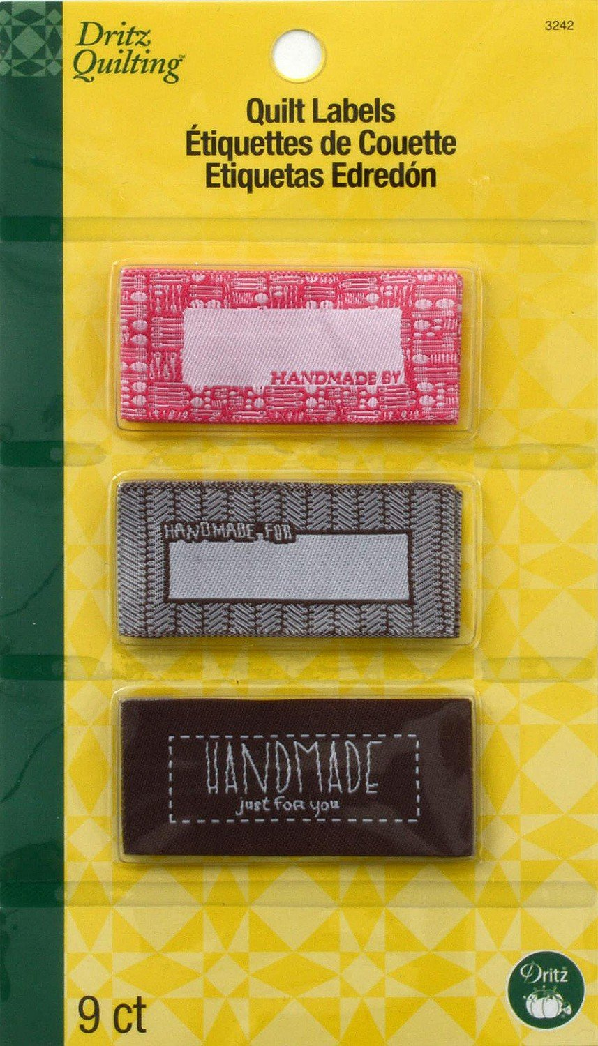 Sew-In Embroidered Labels - Handmade