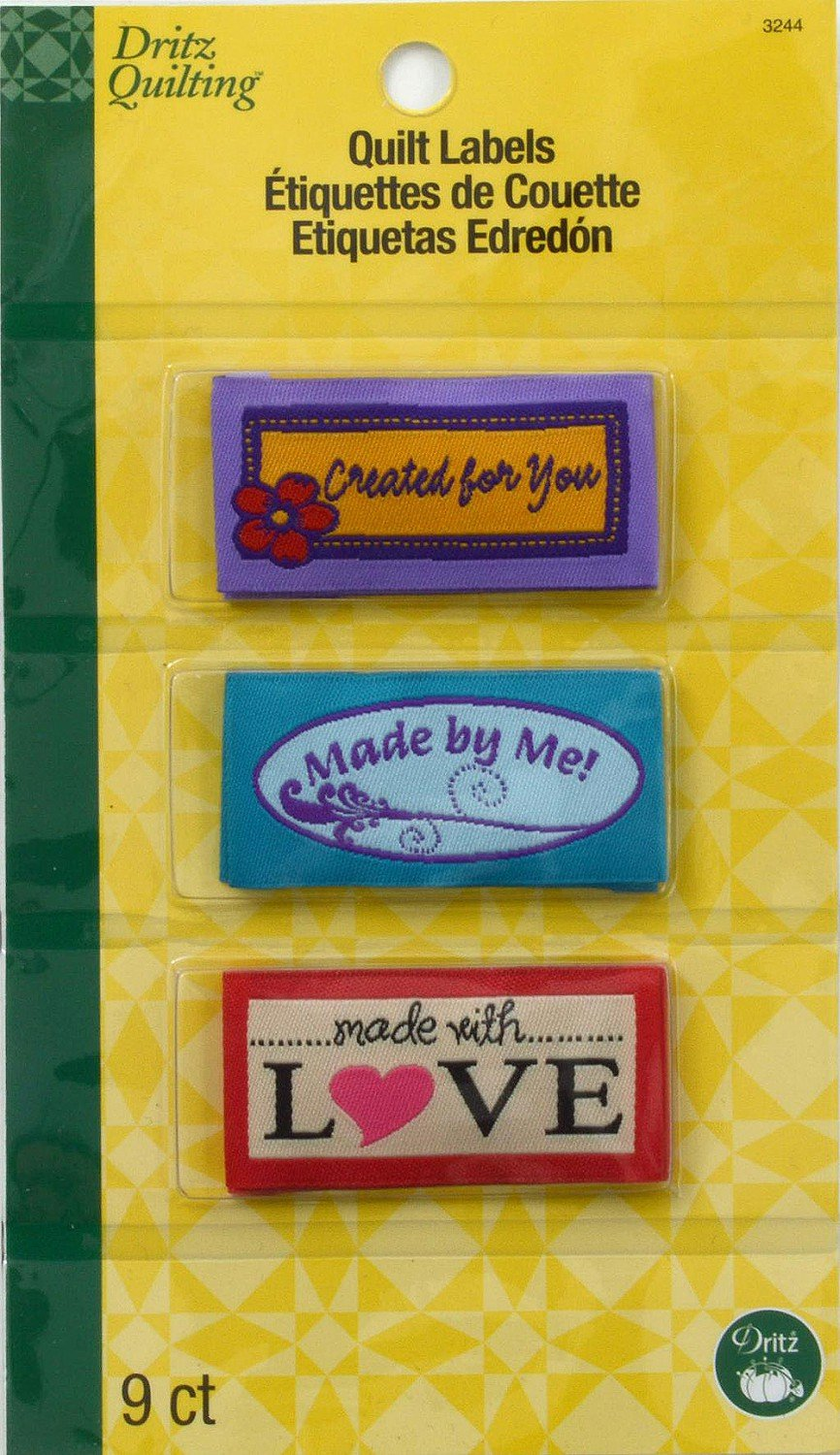 Sew-In Embroidered Labels - Made With Love