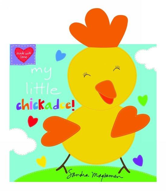 Huggable & Loveable - My Little Chickadee Book Panel (36)