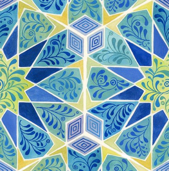 Azuli - Kaleidoscope - Blue